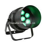 Vello RGBW lavar condujo a la par de alimentación para interiores pueden etapa luminoso (LED FEI Colorpar7 4en1)