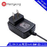 UL Niveau VI van DOE van de Adapter van de Macht van de goedkeuring 12V 1A de Levering van de Macht van kabeltelevisie