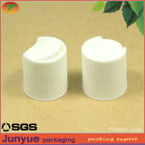 20/410 Hair Care plastic Disc Top press Closure for Cosmetic