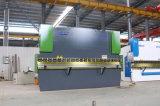 Máquina de dobra inoxidável da chapa de aço da imprensa de alumínio do freio