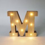 Carta ligera de madera decorativa caliente competitiva estándar de En71 LED