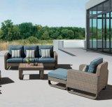 Pátio exterior com jardim de vime Kd lounge Piscina Home Hotel Office sofá (J563-KD)