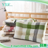 洗濯できる多彩な綿の縞の沿岸枕