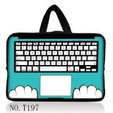 """Blaue Tastatur-Universallaptop tragen Hülsen-Kasten-Beutel-Deckel für 15 """" 15.4 """" 15.5 """" 15.6 """" Laotop PC"""