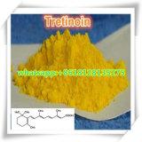 Pó farmacêutico ativo Tretinoin CAS 302-79-4 dos intermediários para tratar a acne