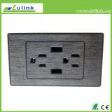 Tabletop коробка соединения для таблицы конференции, Multi средства Desktop хлопает вверх гнездо