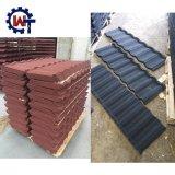 耐久の建築材料の石の上塗を施してある鉄片屋根Ttile