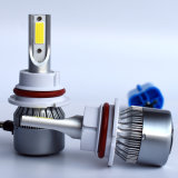 C6 9004 9007本の穂軸の自動車LEDヘッドライト