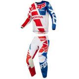 Rouge/bleu 180 Sayak Jersey Pant Motocross MX Dirt Bike Gear