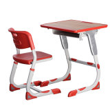 고품질 고도 조정가능한 의자 학교 책상