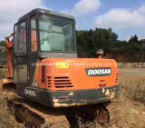 Usado Mini Escavadeira Doosan Dh55 Original para venda