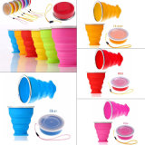 Voyage portable tasses Sports de plein air des tasses en silicone