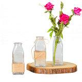 Сельской местности очистить стекло вазы для дома украшения