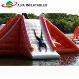 Jogos de flutuação do parque da água do recurso do lago, parque inflável grande do Aqua