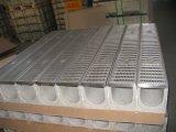 Fr1433 comme3996 grille en acier inoxydable avec canaux de béton polymère