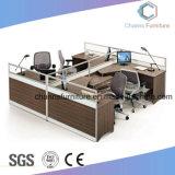 Un mobilier moderne de 6 sièges en bois de la station de travail de bureau (CAS-W1846)