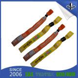 Gedruckter GewebeWristband mit Plastikverschluß
