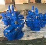 Tipo pesante valvola a saracinesca di gomma di industria della sede del ferro duttile del ghisa