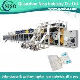 Surtidor de la cadena de producción adulta del pañal máquina con Full-Automatic (CNK300-SV)