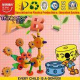 Ferramentas educacionais criativos Brinquedos de blocos de construção plástica