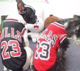 Любимчик футбола баскетбола одеяния собаки вспомогательный одевает одежды тенниски спортов собаки
