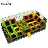 Fabricante profesional de trampolin rectangular para adolescentes