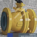 Laiton, en fonte ou en acier inoxydable forgée Electric & clapet à bille flottante industrielle pneumatique avec filetage BSP / Vis NPT ou se termine