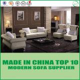 Base di sofà di cuoio moderna di lusso della mobilia del salone del sofà