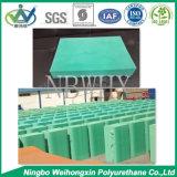 Goma verde del color del pigmento para la esponja flexible Mdi de la espuma de la PU