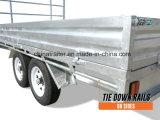 Gegalvaniseerde 12X7 Aanhangwagen Met platte kop