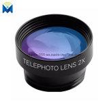 6 dans 1 clip de nécessaire d'objectif de caméra de téléphone mobile d'ensemble complet sur lentille grande-angulaire de nécessaire de cristallin de poissons la macro pour l'iPhone Samsung