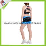 Medias atractivas de encargo de los uniformes de la animadora de la impresión de la sublimación Cheerleading desgaste de la práctica