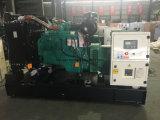 Cummins Open/の無声発電機27kVAのディーゼル発電機セットによって動力を与えられる