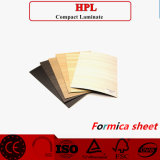 Porte de bois stratifié HPL de grain de peau