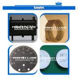 Máquina de la marca del grabado de la fibra del metal de la placa de acero del laser