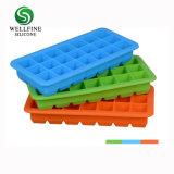 21 Grid cubos de gelo com alimentos congelados Caixas com tampa