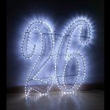 Meilleures ventes 3 fils Cordon LED de vacances à la lumière jusqu'Corde à sauter