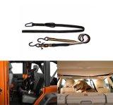 Veículo automóvel Pet ajustável Zipline Dog Coleira de cinto de segurança