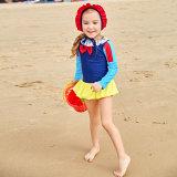 Hermosa Princesa Blancanieves una sola pieza trajes de baño para bebé niña