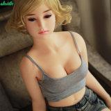 158cm junges Mädchen-realistische erwachsene Mann-Schwarz-Liebes-Silikon-Geschlechts-Puppen