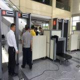 金属探知器を点検する機密保護の点検X光線袋
