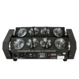 8X10W RGBW LED 거미 광속 이동하는 맨 위 빛