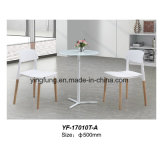 최신 판매 중첩 강화 유리 커피용 탁자 (YF-T16021)
