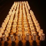 LED 전구 25W 20W 15W 10W 5W 옥수수 빛 E27 E14 E12 LEDs 램프 5736 램프 110V 220V Lampada 알루미늄 방열기 백색 반점 빛