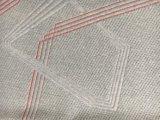 Nueva tela linear del colchón del poliester 2017