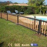 Menos cerca barata de aluminio durable de la casa WPC del mantenimiento para el jardín