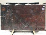 Mattonelle & lastre rosse d'acciaio della quarzite alta qualità/di colore rosso