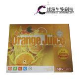 自然なフルーツの新しい食事療法のオレンジジュースの細く