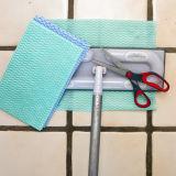 مادّة فسكوز وبوليستر [نونووفن] مستهلكة جافّ أرضية تنظيف منديل