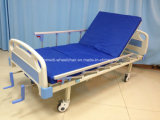 Cama de hospital manual del cuidado médico de la función médica del producto dos para el hogar y el hospital